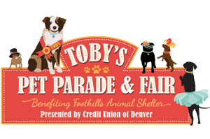 tobys pet parade logo